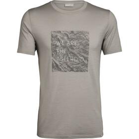 Icebreaker Nature Dye 200 Asteroid Koszulka z krótkim rękawem Mężczyźni, husk/english